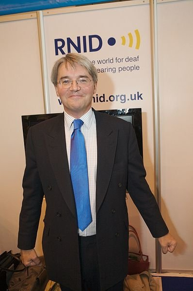 New UK Secretary of State for International Development, Andrew Mitchell