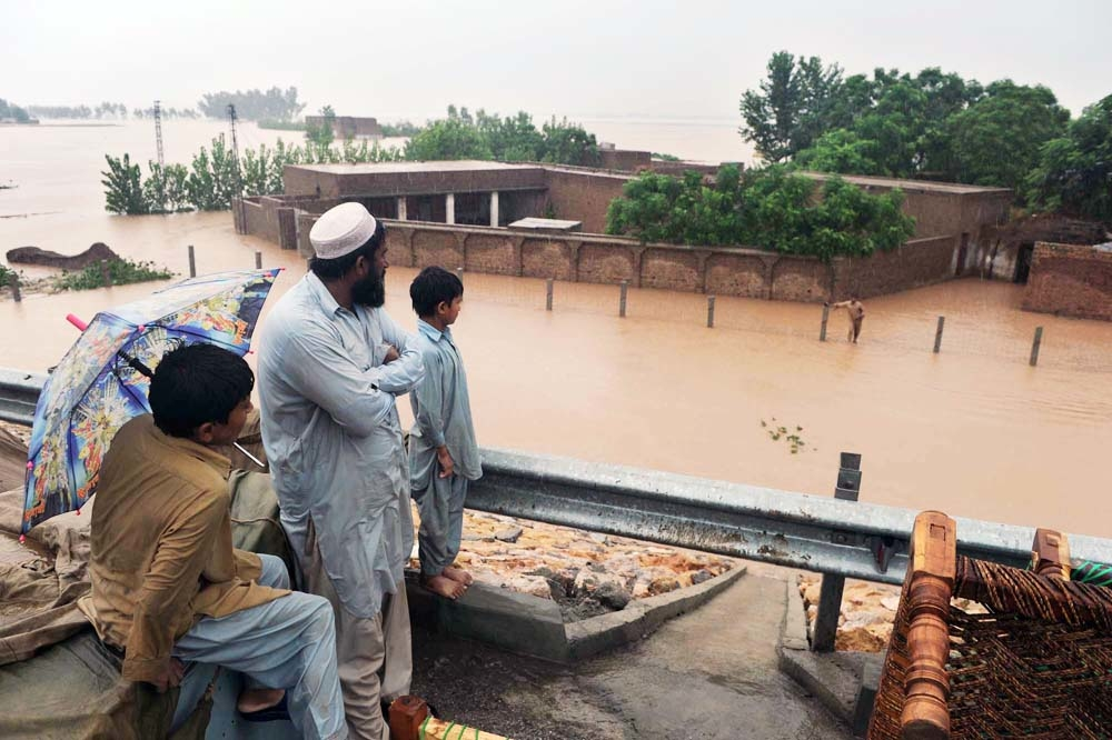 While flood victims are surrounded by water, there is very little that is safe enough to drink