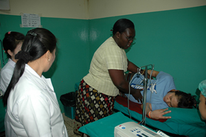 Midwife trains Laos birthing attendants