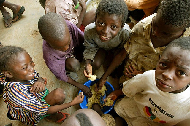 Children in Mali. For Generic use - Food Security