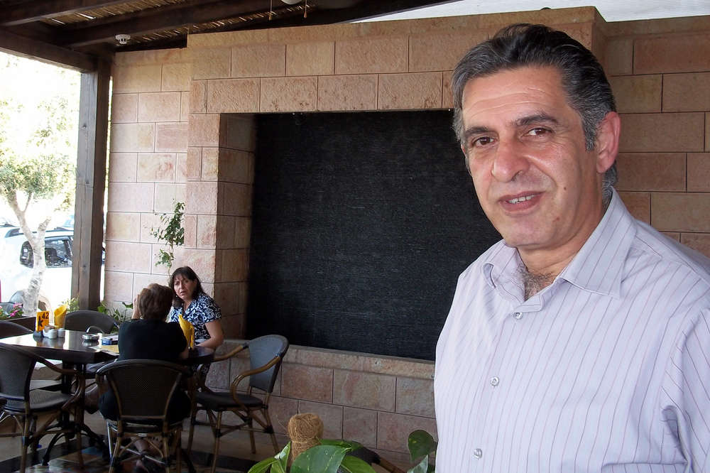 Jack Saadeh, head of Pal-Mark, one of the major hotel and restaurant supplies in the West Bank, opened a cosmopolitan new café, Jasmine, in the A-Tira section of Ramallah. 