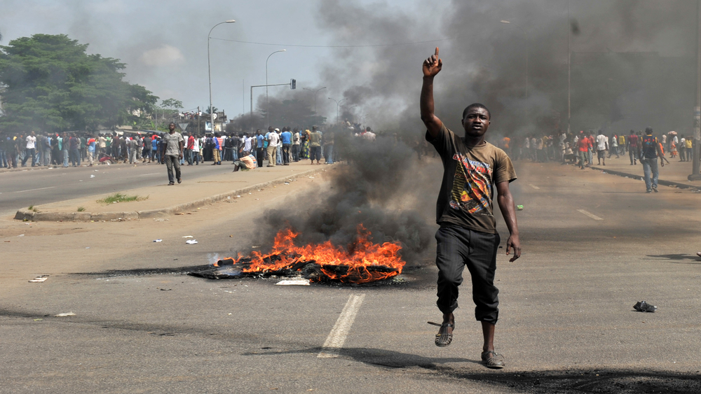 The 2010 elections in Cote d'Ivoire led to a wave of violence in the capital, Abidjan