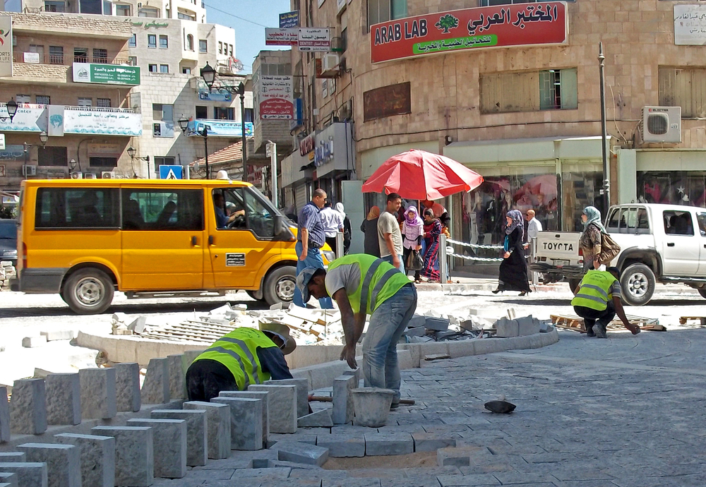 A major 'Rehabilitation of the City Center' project will end August 2011 after a year of rehabilitating Ramallah's water and electricity network, roadways and communications infrastructure. New squares and monuments are cropping up across the city