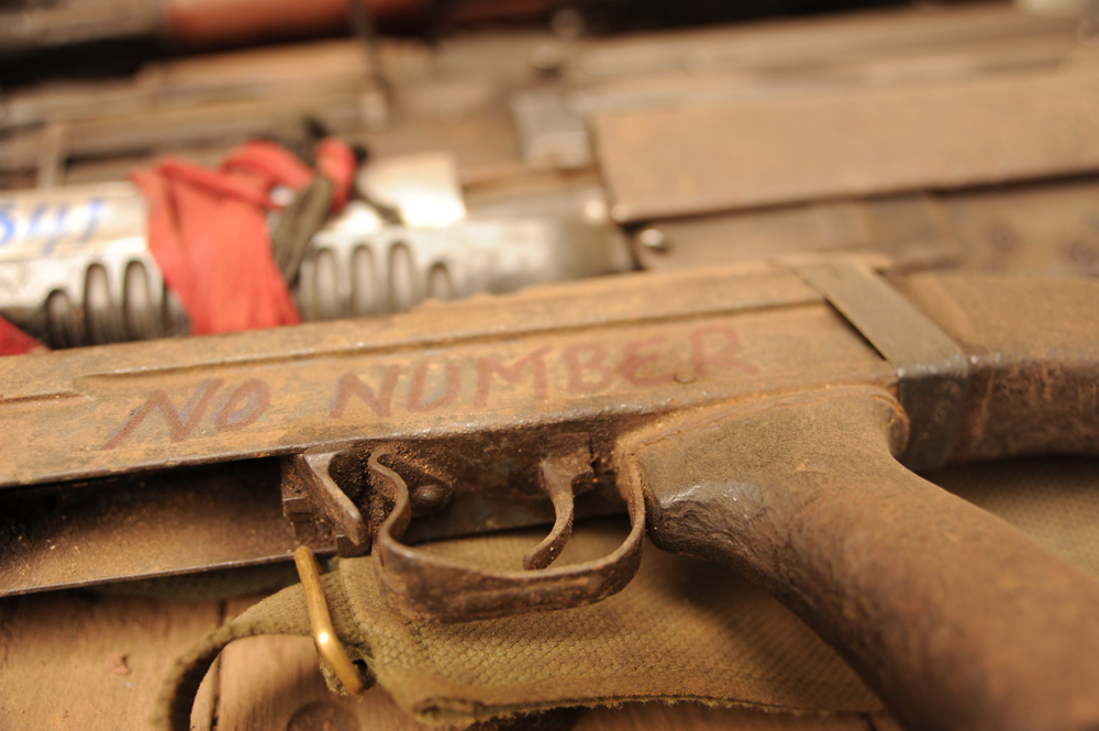 All small arms and other weapons collected are documented by type, calibre, serial number and origin of armed group – then sent for destruction under the supervision of MONUSCO