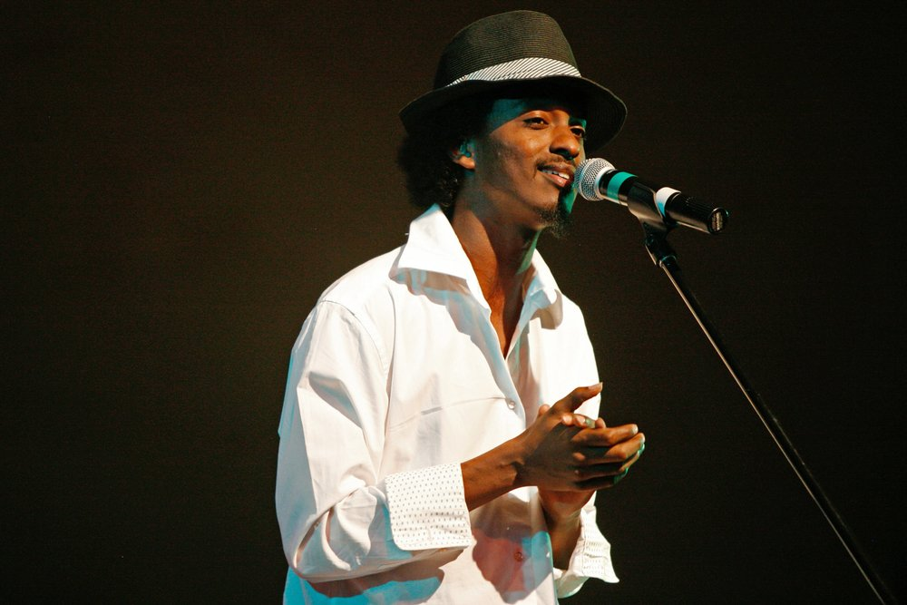 K'Naan at The Big Timeout Music Festival - Cumberland, BC