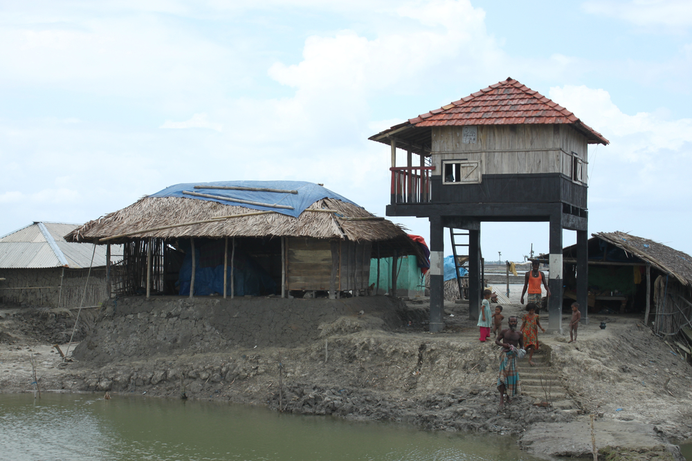 Disaster-resilient settlement near Bay of Bengal, Bangladesh