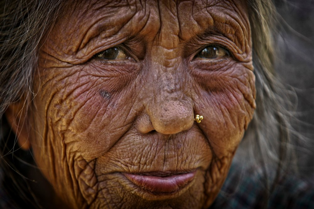A elderly woman in Nepal. The number of people in Asia aged 65 and over is expected to grow dramatically in the next 50 years