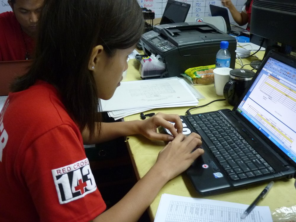 A Red Cross volunteer will be trained not just in first aid, but will be taught skills necessary to monitor and evaluate disasters and emergencies