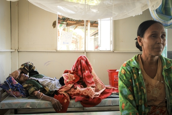 It's 55-year-old Kyu Kyu* recently moved to Yangon to look after her