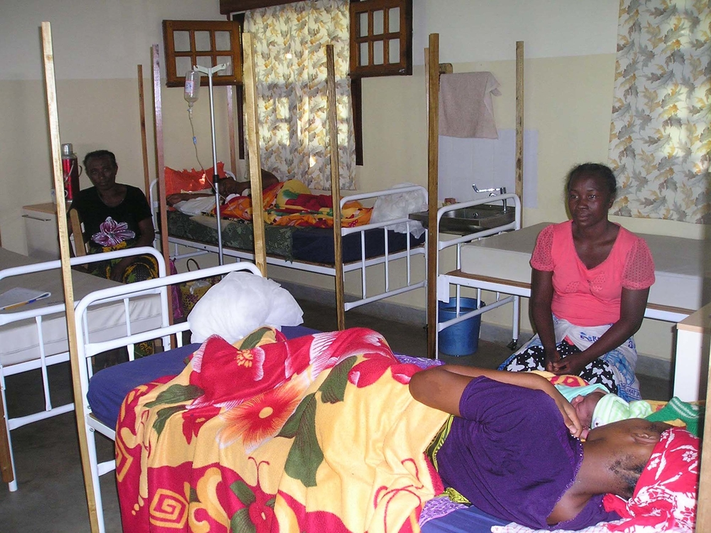 The maternity ward at the Baptist Good Hope Hospital in the northern Madagascan town of Mandritsara
