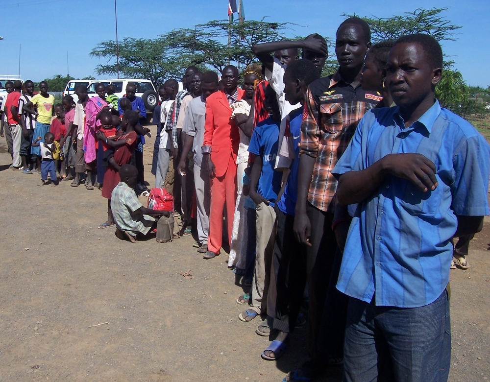 At least 7,000 Sudanese and South Sudanese refugees have straemed into Kakuma since January 2012