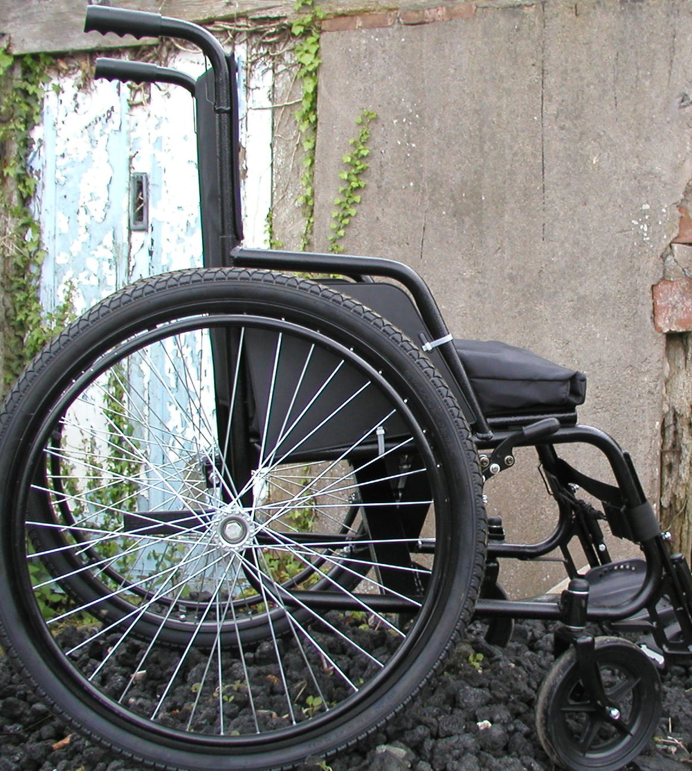 Emergency wheelchair
