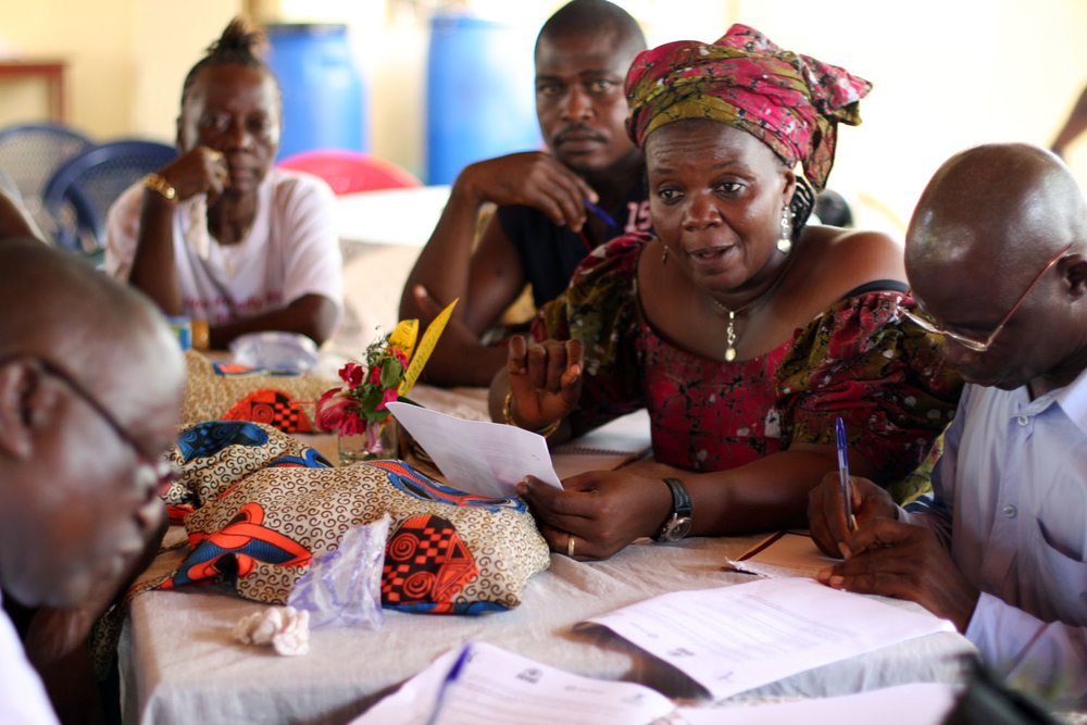 Gladys Brima, a women's rights and gender activist, founded the Sierra Leonean non-profit Women's Partnership for Justice and Peace that works to combat gender-based violence and promote women's rights. Here Brima discusses the government's draft land pol