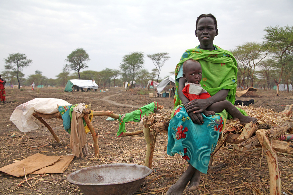 Refugees fleeing bombs and violence in Sudan's war-torn Blue Nile State lack shelter and mosquito nets at sites like Kilometre 18 in South Sudan's Upper Nile State