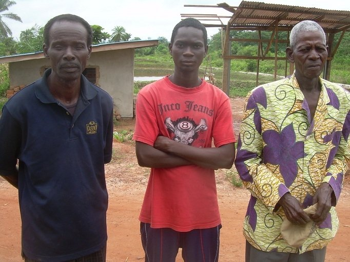 Samuel, a stone mason from Toulépleu in Cote d'Ivoire, is currently a refugee in Liberia. He fled during the 2010 post-election violence in Cote d'Ivoire and says there are no prospects for him back home
