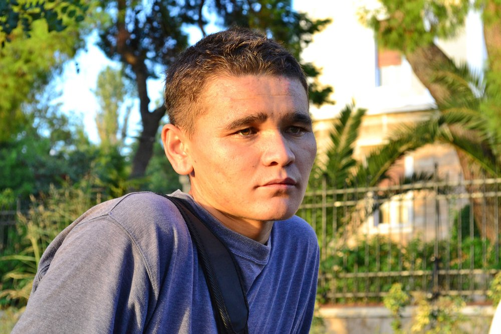 Ibrahim Jafari, 17, from Afghanistan, is among thousands of unaccompanied minors who enter Greece every year