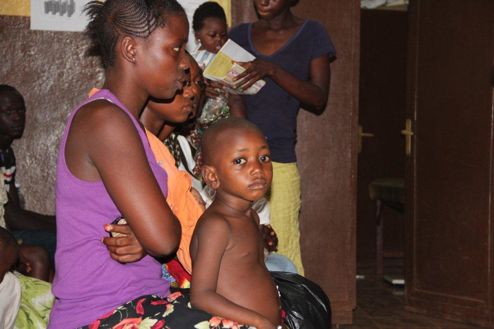 Around 35 percent of child deaths is caused by malnutrition in Sierra Leone