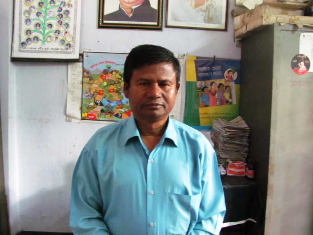 Wliar Rahman, a 47 year-old primary school teacher, now borrows money to pay rising food bills. Feeding his family of four in Mirpur Sub-district in Dhaka is fast becoming impossible