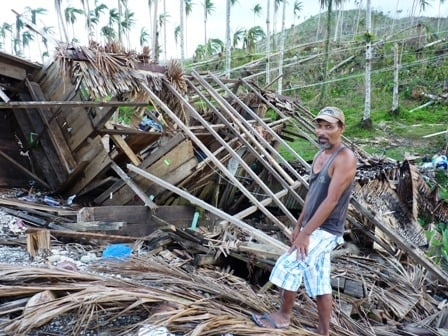 6.2 million people were affected by Typhoon Bopha which struck the eastern coast of Mindanao Island on 4 December 2012, resulting in over 1,000 deaths and thousands displaced