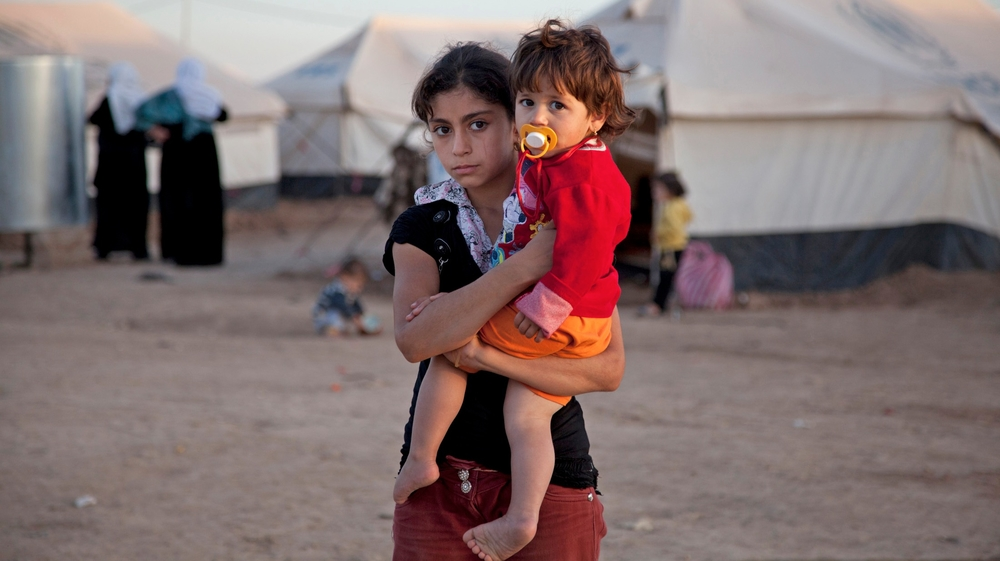More than half a million people have fled Syria for neighbouring countries, even Iraq (Domiz camp, Kurdistan region, Iraq)