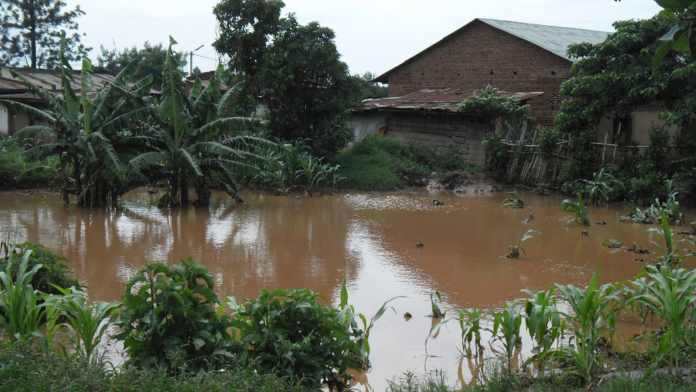 Recent floods have affected hundreds of farming communities in western and northern Rwanda