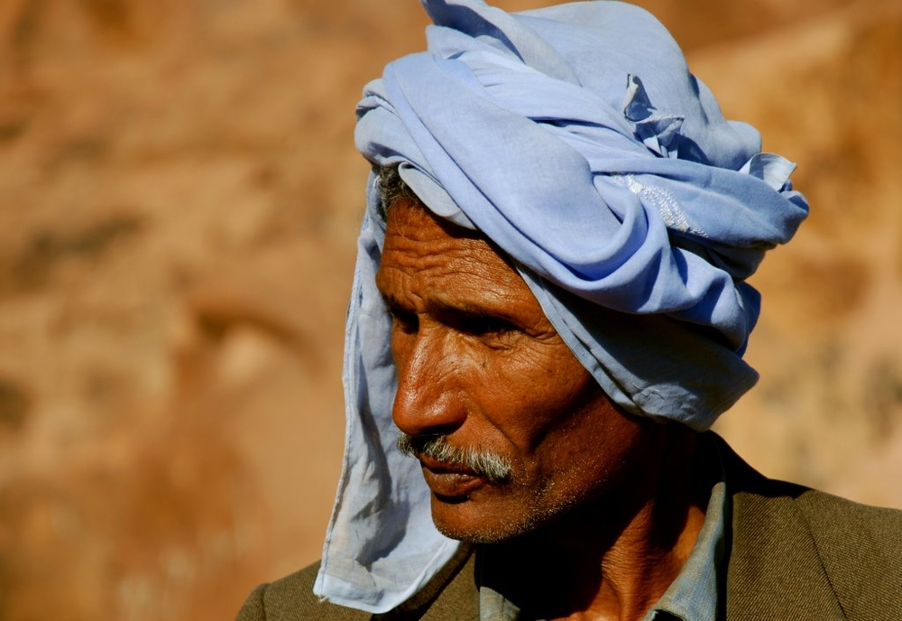 A Bedouin man in Egypt's Sinai Peninsula (2007)