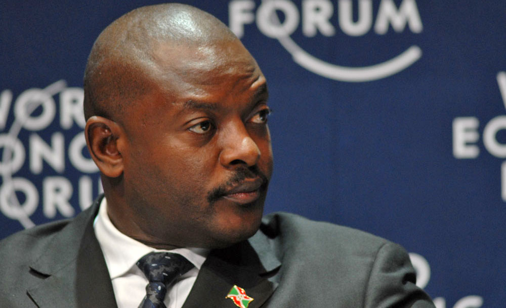President Pierre Nkurunziza of Burundi. For generic use