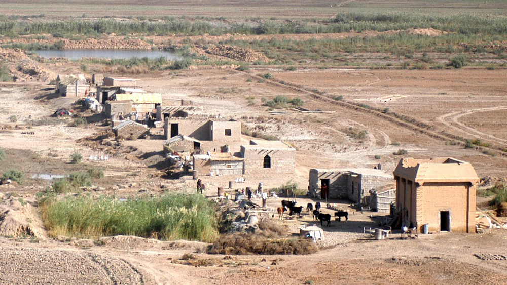 Rural settlement, Al Anbar Province, Iraq