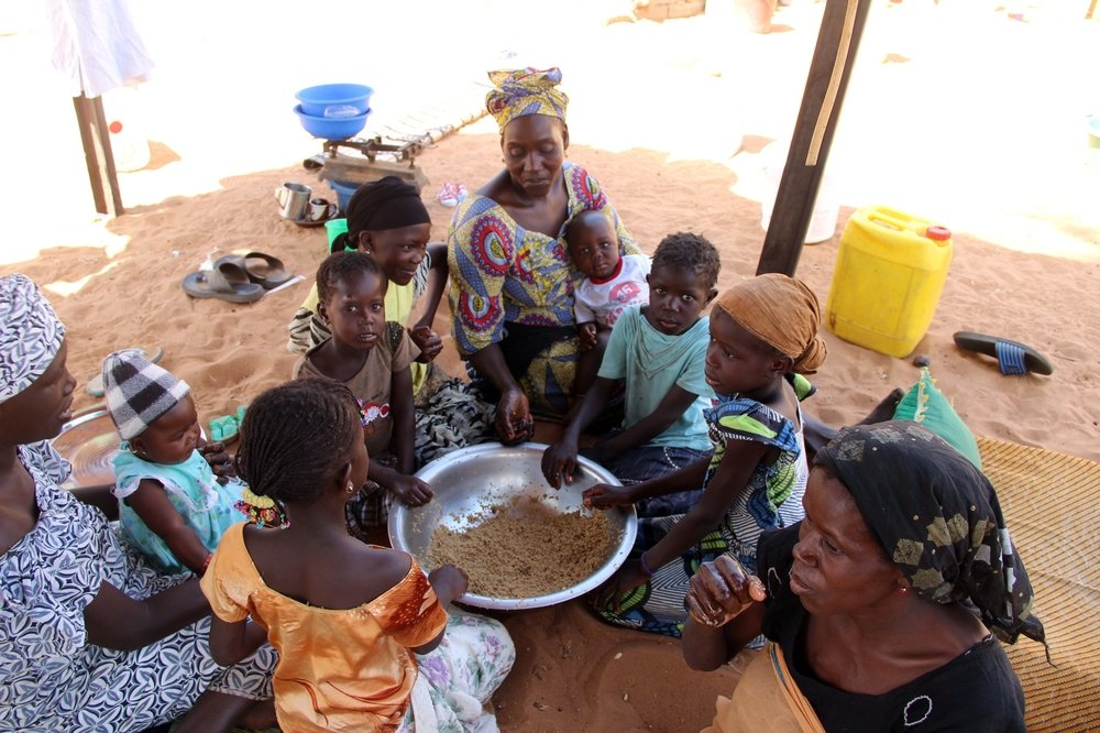"Finding enough food for the children is very difficult,"" said Ndeye Diagne. ""This year, we've just been eating rice with oil around 11am and whatever is left over before we go to bed. Always my children are hungry. I'm worried about their health a"