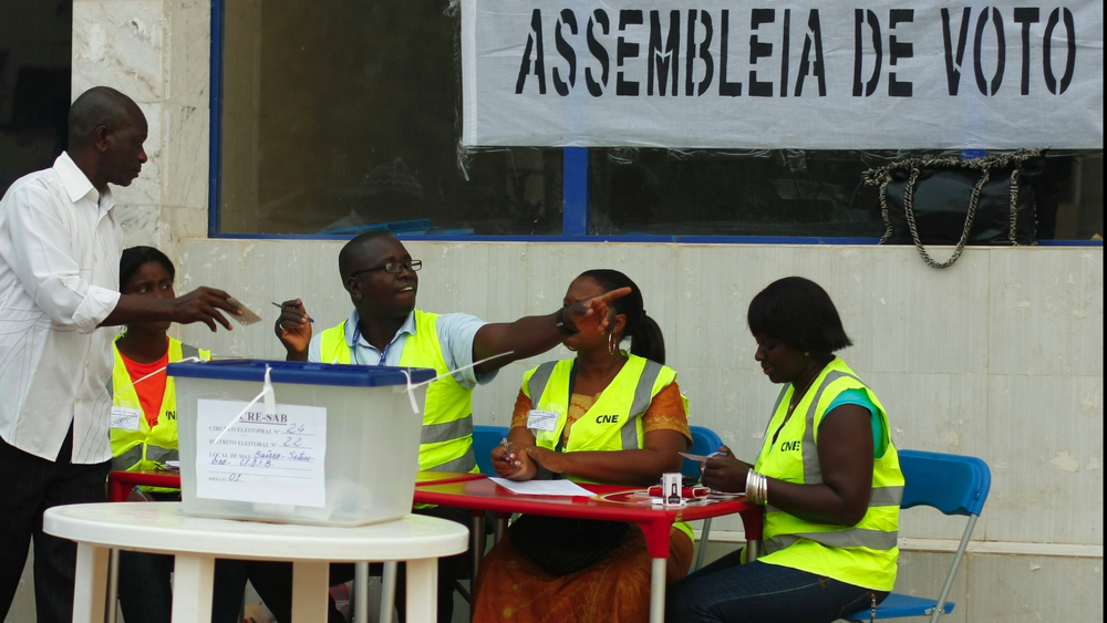 Bissau-Guineans cast votes in the 2012 presidential elections that were later overrun by a military coup