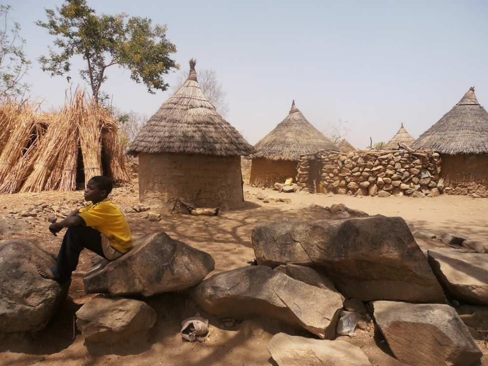 An homestead in northern Cameroon. Residents and local officials in Cameroon's Far North Region fear that Nigeria's extremist Boko Haram militants are recruiting fighters in the region