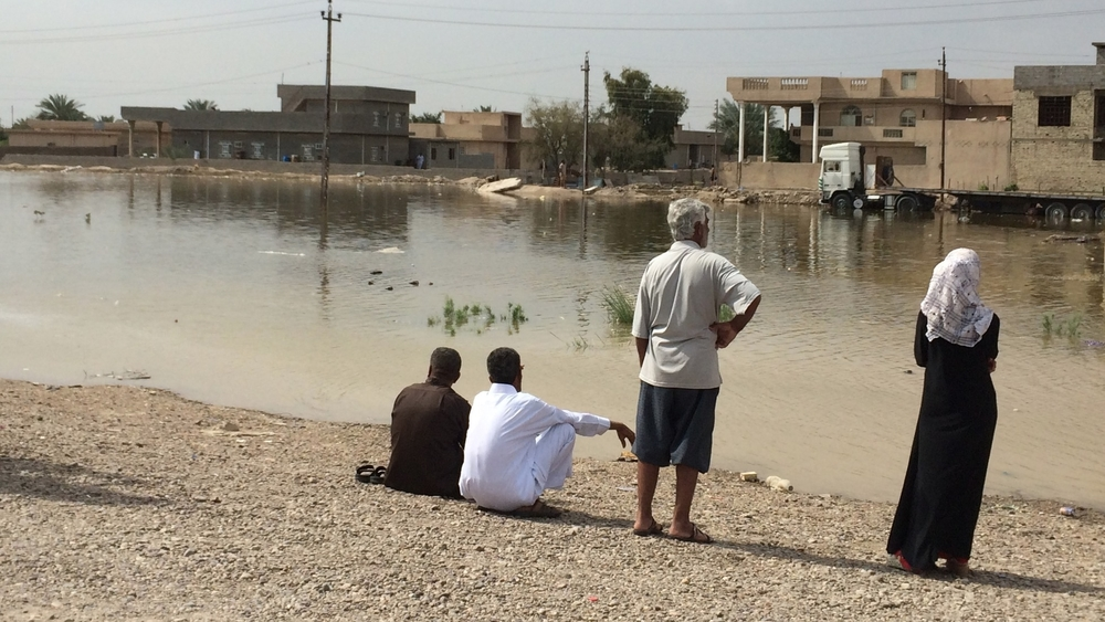 Militants for the Islamic State of Iraq and the Levant (ISIL) caused flooding in the Iraqi city of Abu Ghraib when they forced the closure of a major dam on the Euphrates river, destroying villages and farms across a 200sqkm area west of Baghdad, leaving