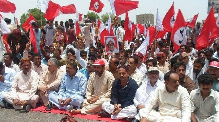 As hundreds of thousands of people have fled Pakistan's North Waziristan region, those that have arrived in the southern Sindh region have been faced with hostility by some groups. A protest against the internally displaced people was carried out by Sindh