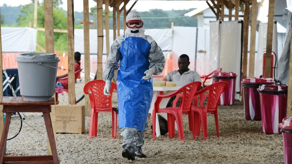IFRC Kenema Ebola treatment centre (October 2014)