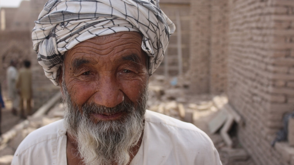 Naim Korbon is rebuilding his house in northern Afghanistan after the worst floods in 40 years. The region has seen increasingly unpredictable weather in recent years, with experts suggest climate change is a factor.
