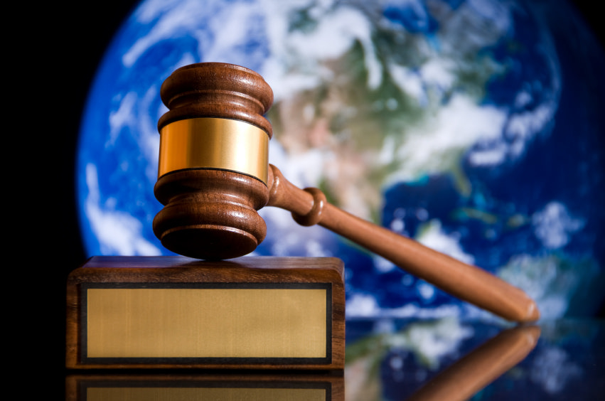 A judge's gavel (stock photo for justice)