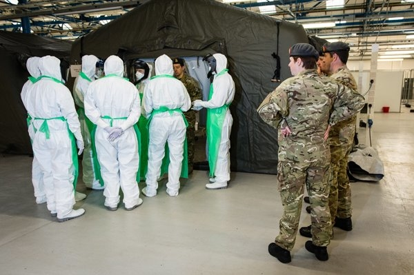 UK troops prepare for Sierra Leone Ebola duty