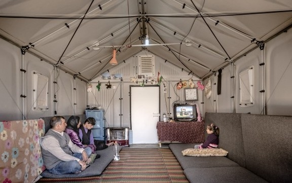 IKEA has been trialling new types of shelter in Iraq and Kenya