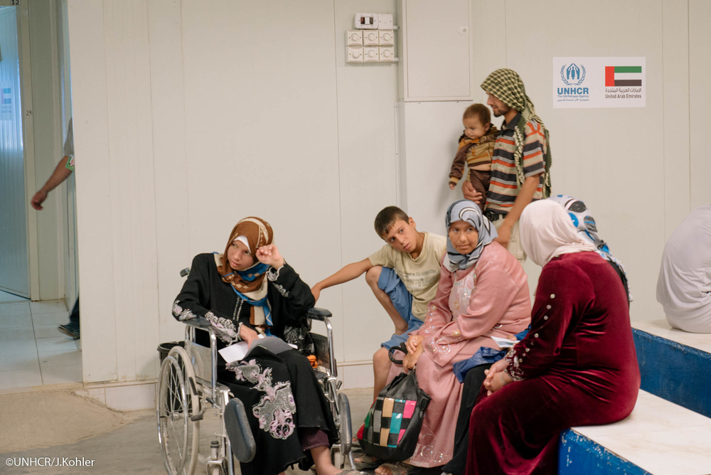 UAE-funded healthcare facility for Syrian refugees in Jordan.