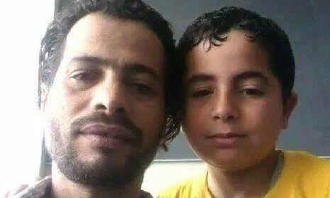 Wael al-Sahlee, a Palestinian refugee from Syria, was trapped in Dubai airport with his son Montasser for two weeks. He now faces potential deportation from Jordan to Syria.