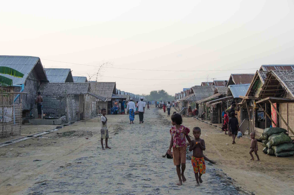 Say Tha Mar Gyi camp for displaced persons, near Siitwe, the capital of Myanmar's Rakhine state