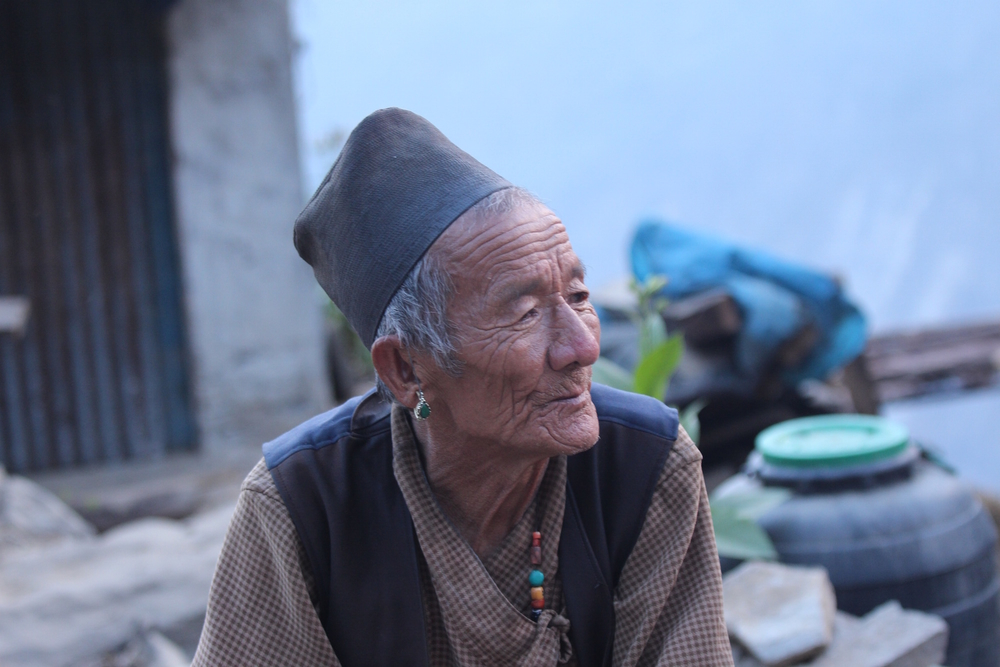 Bir Bahadur Tamang narrowly escaped death in Nepal's 25 April, 2015  earthquake. He still fears landslides when the monsoon rains come