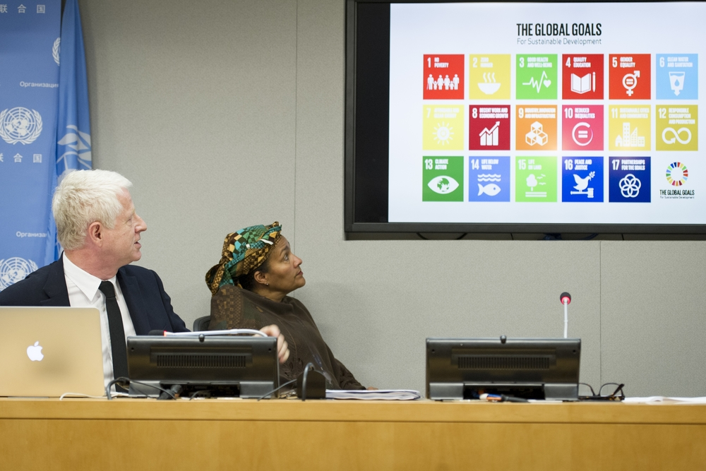 Press Briefing on Global Goals Campaign
