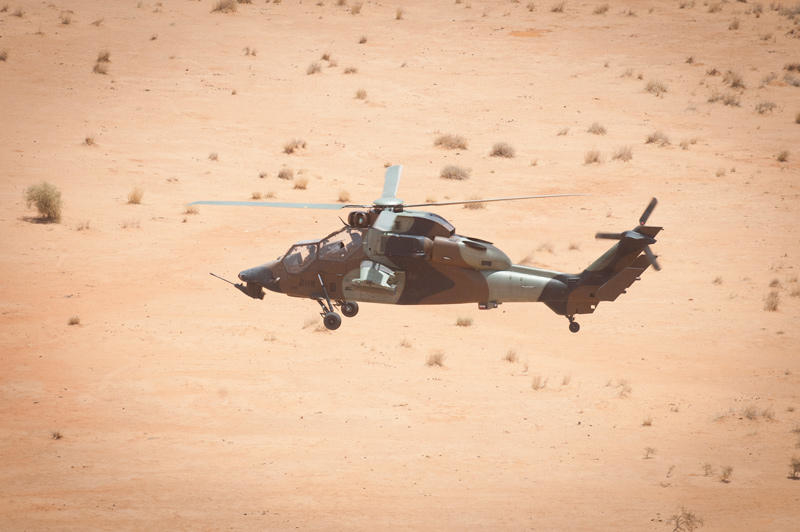 French Tigre helicopter