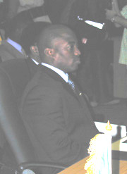 [Congo - South Africa] President of Democratic - Republic of Congo Joseph Kabila.