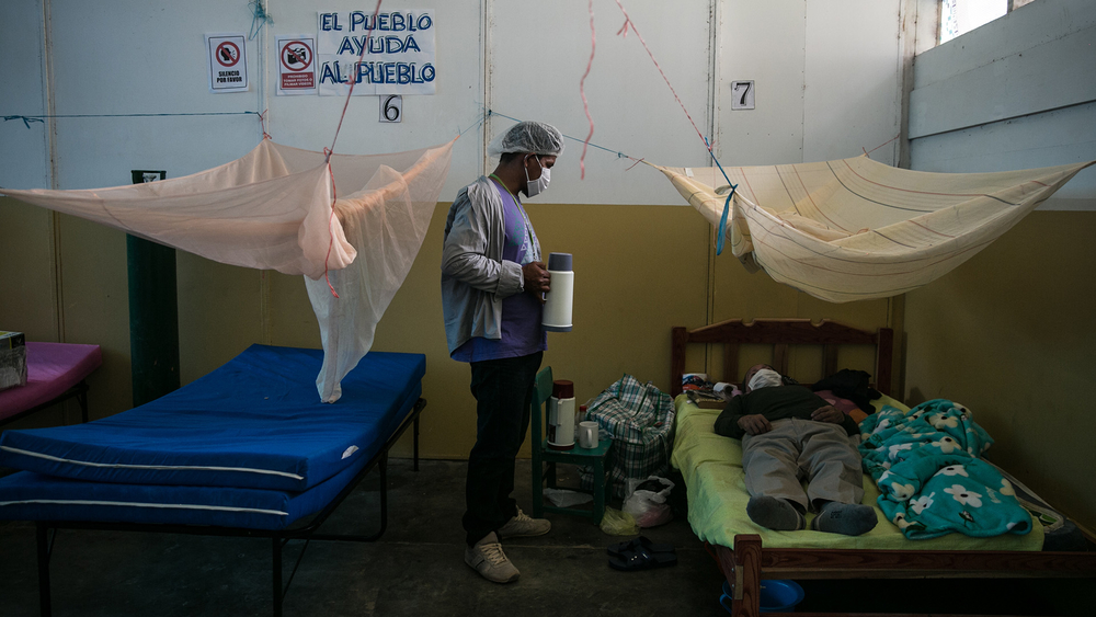 Rafa Castillo, a Shipibo natural medicine specialist at an indigenous health center in Yarinacocha