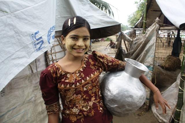 Dry season water worries for Myanmar IDPs in Rakhine State