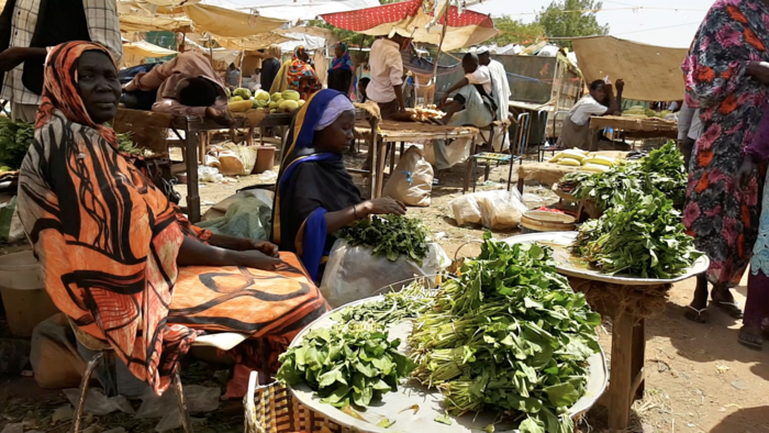 A market in Sudan