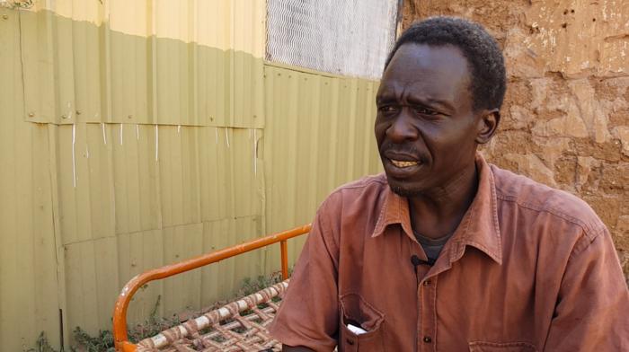 Photo of a man in Khartoum, Sudan.