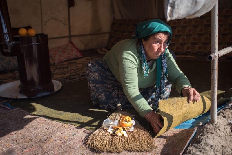 Эксплуатация сирийских беженцев на турецких фермах.